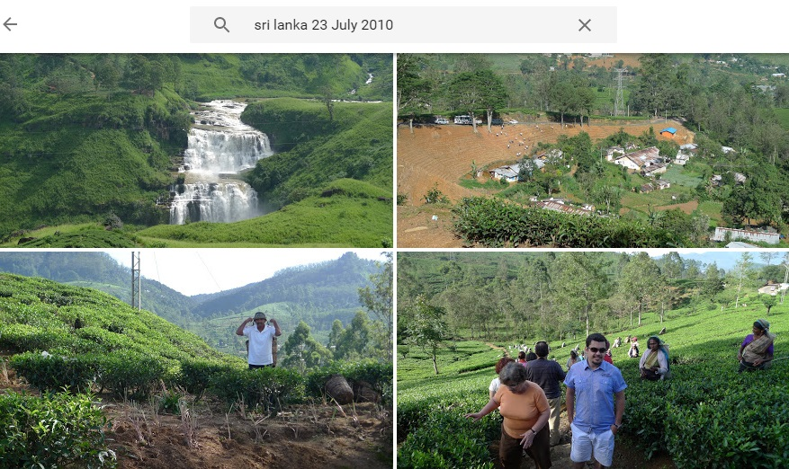 Google Photos combined search queries